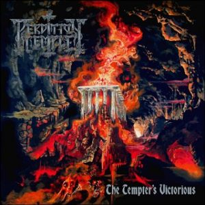 PERDITION TEMPLE (USA) - The Tempter's Victorious LP (red/orange splatter)
