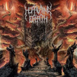 HEAVING EARTH (Cz) – 'Denouncing the Holy Throne' CD