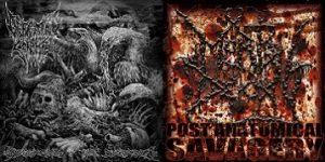 """DEFEATED SANITY / MORTAL DECAY (Ger/USA) – split 7""""EP"""