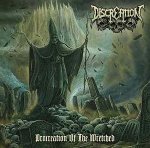 DISCREATION (Ger) – 'Procreation of the Wretched' LP Gatefold