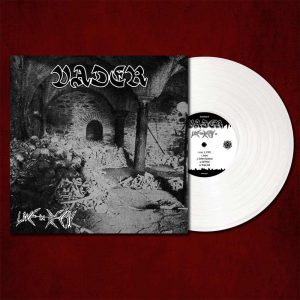 VADER (Pol) - 'Live in decay' LP Gatefold (white vinyl)