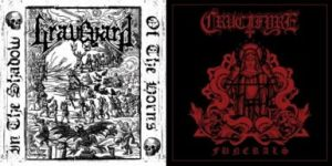 "GRAVEYARD / CRUCIFYRE (Spa/Swe) – split 7""EP"