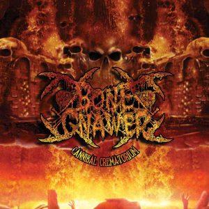 BONE GNAWER – 'Cannibal Crematorium' LP Gatefold