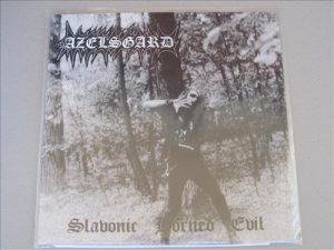 AZELSGARD (Pol) – 'Slavonic Horned Evil + bonus' LP
