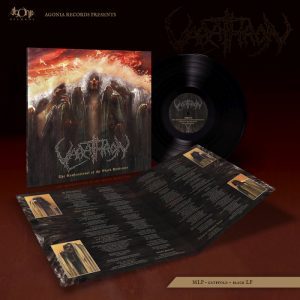 VARATHRON (Gr) – 'The Confessional of the Black Penitents' LP Gatefold