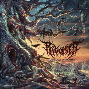 REVULSED (Aus) – 'Infernal Atrocity' LP Gatefold