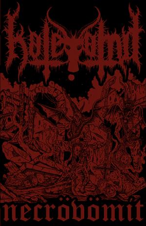 HATEVOMIT (Tur) – 'Necrovomit' TAPE