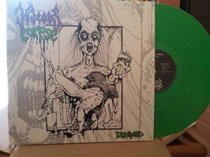 HIDEOUS CORPSE (USA) – 'Demented' LP (green vinyl)
