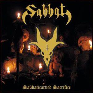 SABBAT (Jap) – 'Sabbaticarved Sacrifice' LP etched