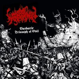 WARPVOMIT (USA) – 'Barbaric Triumph of Evil' LP