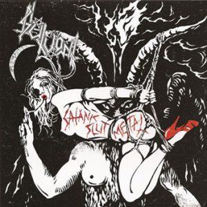 """SLUTVOMIT (USA) – 'Satanic Slut Metal' 7""""EP"""