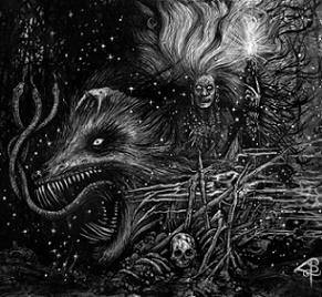 GRAFVITNIR (Swe) – 'Obeisance to a Witch Moon' LP Gatefold