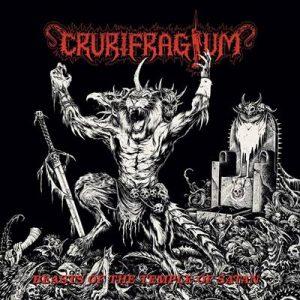 CRURIFRAGIUM (USA) - Beasts of the Temple of Satan LP
