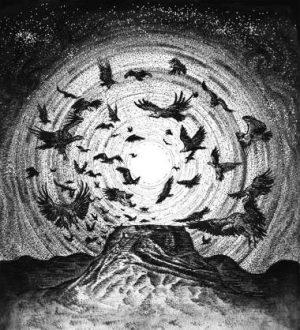 SINMARA / MISÞYRMING (Ice) – split LP Gatefold (smoke color vinyl)