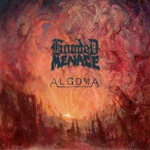 "HOODED MENACE / ALGOMA (Fin/Can) split 12""MLP Gatefold"