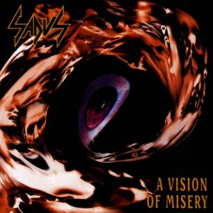 SADUS (USA) – 'A Vision of Misery' LP (Splatter vinyl)