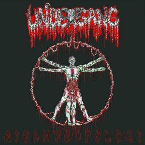 UNDERGANG (Dk) – 'Misantropologi' LP (White vinyl)