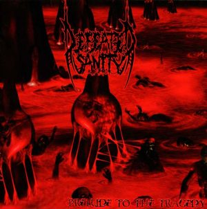 DEFEATED SANITY (Ger) - 'Prelude to the Tragedy' LP Gatefold (Red marbled vinyl)