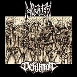 MASTER / DEHUMAN (USA/Bel) – split LP + CD