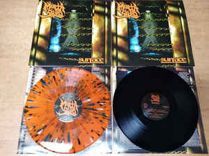 MORTA SKULD (USA) – 'Surface' LP (Orange splatter vinyl)