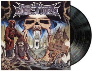 NOCTURN (Hol) – 'Estranged Dimensions + Shades of Insanity' D-LP Gatefold (Black vinyl)
