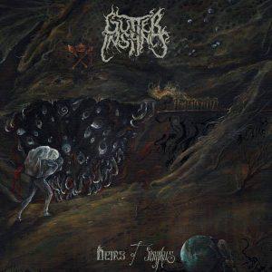 GUTTER INSTINCT (Swe) – 'Heirs Of Sisyphus' D-LP Gatefold (white vinyl)