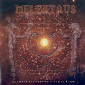 MELEKTAUS (Chi) – 'Trascendence through the Ethereal Scourge' CD Slipcase