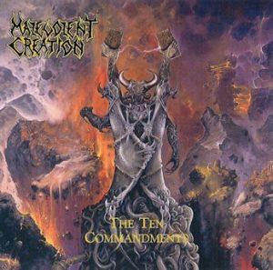 MALEVOLENT CREATION (USA) – 'The Ten Commandments' LP