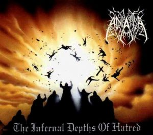 ANATA (Swe) – 'The Infernal Depths of Hatred' LP (Yellow marbled vinyl)