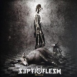 SEPTIC FLESH (Gr) – 'Titan' D-LP Gatefold (white vinyl)