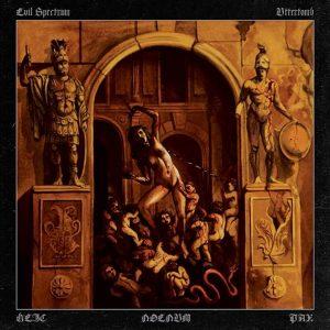 UTTERTOMB / EVIL SPECTRUM (Chi/Per) - split LP