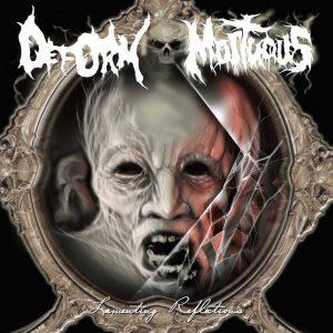 MORTUOUS / DEFORM (USA) - split 7'EP (Black Vinyl)