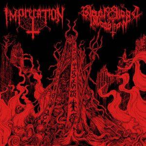 IMPRECATION / BLACK BLOOD INVOCATION (USA/Gr) – split 2-CD Digipack