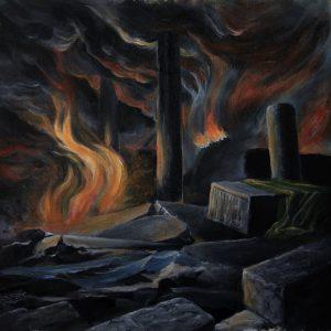 KOSMOKRATOR (Bel) – 'Through Ruin… Behold' LP (Blue vinyl)