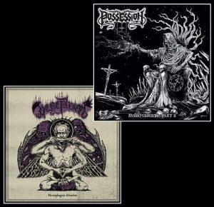POSSESSION / VENEFIXION (Bel/Fr) - Split LP