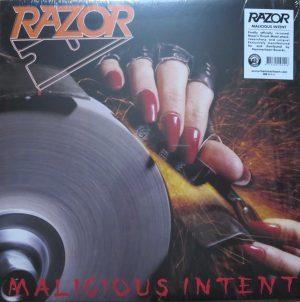 RAZOR (Can) – 'Malicious Intent' LP (Red vinyl)