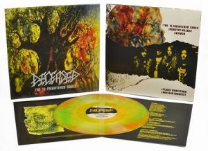 DECEASED (USA) – 'The 13 Frightened Souls' MLP (tri-color neon vinyl)