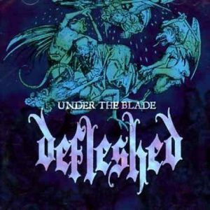 DEFLESHED (Swe) – Under the Blade LP (Clear vinyl)
