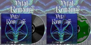 VITAL REMAINS (USA) – 'Forever Underground' LP (green/silver swirl)