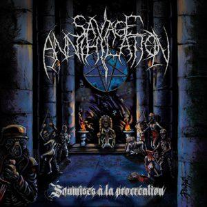 SAVAGE ANNIHILATION (Fra) – Soumises à la procreation MCD Digipack