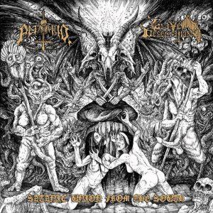PUTRID / GRAVE DESECRATION (Per) – split LP