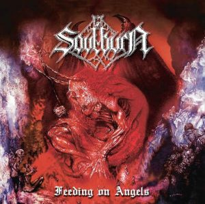 SOULBURN (Nl) – 'Feeding on Angels' D-LP Gatefold (silver vinyl)