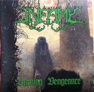 """INFAMY (USA) – 'Burning Vengeance' 7""""EP"""
