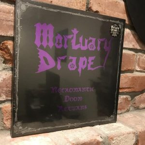 MORTUARY DRAPE (It) – 'Necromantic Doom Returns' D-LP Casewrapped