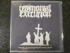 CEREMONIAL EXECUTION / BORIGOR (Swe) - split 7'EP