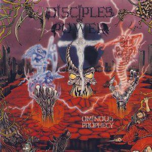 DISCIPLES OF POWER (Can) – 'Ominous Prophecy' LP (Orange vinyl)