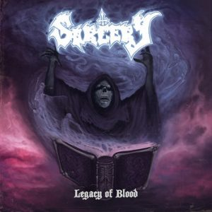 SORCERY (Swe) – 'Legacy Of Blood' LP (red splatter)