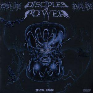 DISCIPLES OF POWER (Can) – 'Powertrap' LP (Silver vinyl)