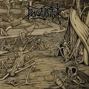 "DEIQUISITOR (Dk) – 'Sword Of Pestilence' 7""EP (Clear vinyl)"
