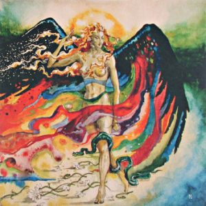 JESS AND THE ANCIENT ONES (Fin) – 'Astral Sabbat' MLP Gatefold (GREEN/RED VINYL)